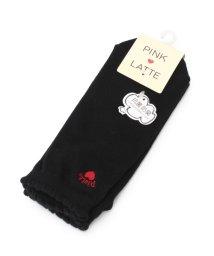 PINK-latte/履き口スカラップショートソックス/500349745