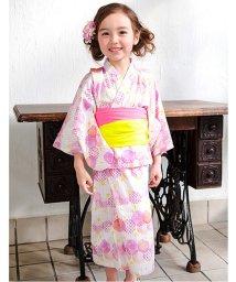apres les cours/GIRLS水彩サークル柄浴衣セット/500347788