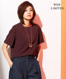 ICB(LARGE SIZE)/【WEB限定】【セットアップ可/洗える】Fied Tee ブラウス/500352153