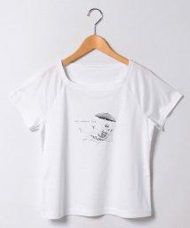 CARA O CRUZ/ガールプリントTシャツ  /10254789N