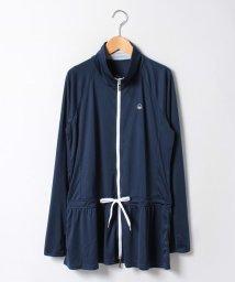 VacaSta Swimwear/【BENETTON】フードUVラッシュガードロング丈ポケット付/500340937