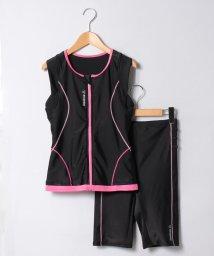 VacaSta Swimwear/【REEBOK】無地フルジップタンキニ/500341302