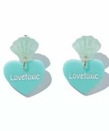 Lovetoxic/シェルハートイヤリング/500346490