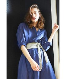 PROPORTION BODY DRESSING/《BLANCHIC》カラーリネンシャツ/500352396