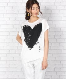 Bou Jeloud/ハート変形Tシャツ/500346140