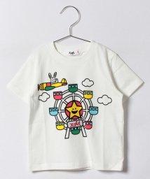 X-girl Stages/キラッキー&観覧車 半袖Tシャツ/500346494