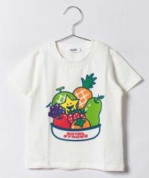 X-girl Stages/キラッキー&フルーツ 半袖Tシャツ/500346496
