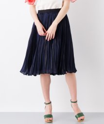 LANVIN en Bleu/グロッシープリーツスカート/LB0003935