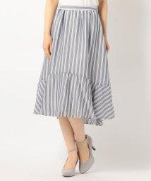 MISCH MASCH/ストライプ切替スカート/500202478