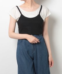 NICE CLAUP OUTLET/【one after another】カットビスチェ/500345400