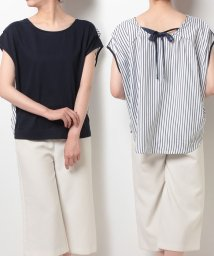 NICE CLAUP OUTLET/後ろストライプT/500345398