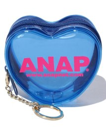 ANAP/ANAPロゴハート型ビニールコインケース/500350116