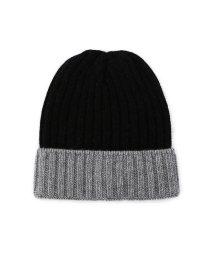 ROSE BUD/ウールレーヨン混リブニット帽/500359812