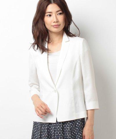 【Leilian(レリアン)】七分袖ジャケット