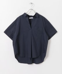 URBAN RESEARCH Sonny Label/抜け衿半袖ワイドシャツ/500361382