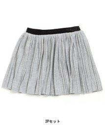 Boomy Roomy / F.O.KIDS MART/1分丈パンツ付きプリーツスカート/500337010