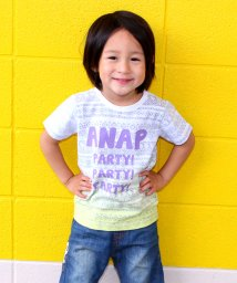 ANAP KIDS/裏ネイティブ柄×段染め  Tシャツ/500350203