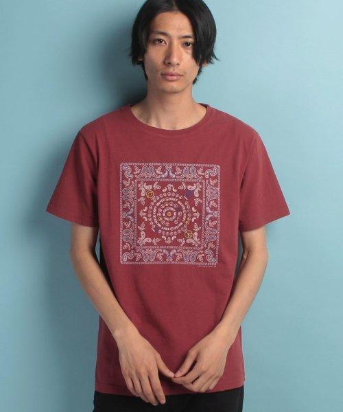 KRIFF MAYER(クリフ メイヤー)/バンダナ刺繍T/1715113