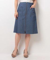CARA O CRUZ/AラインZIPスカート /10255218N