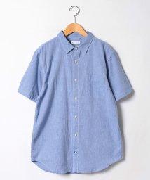 JNSJNM/【FORT POINT】リネンCOOLMAX半袖シャツ/500350038