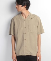 JNSJNM/【BLUE STANDARD】オープンカラー半袖シャツ/500350040