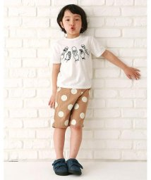 b-ROOM/インタビュープリントTシャツ/500356070