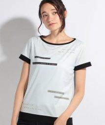CARA O CRUZ/レタープリントTシャツ/10255259N
