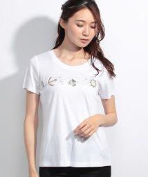 Leilian/マリンテイストTシャツ  /10255292N