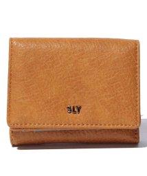 SLY/【SLY】三つ折り財布/500350580