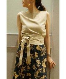 PROPORTION BODY DRESSING/《BLANCHIC》リネン混セットアップブラウス/500368841