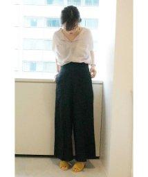 PROPORTION BODY DRESSING/《BLANCHIC》リネン混セットアップパンツ/500368842