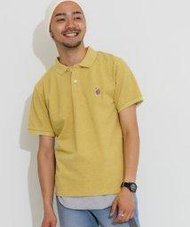 URBAN RESEARCH DOORS/杢鹿の子ポロシャツ/500369685