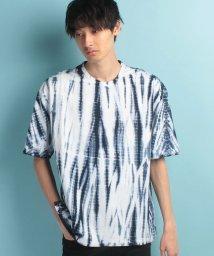 JUNRed/絞り染め半袖Tシャツ/500361050