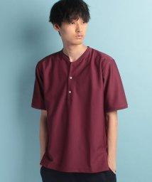 JUNRed/カノコリブカラーTシャツ(EC別注)/500367676