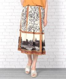 Bou Jeloud/街柄オリジナルプリントスカート/500362889