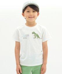 KOE/ダイナソープリント半袖Tシャツ/500362958