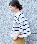 ADAM ET ROPE'/BIG MARINE BOATNECK SHIRT【Traditional Weatherwear】/500375918