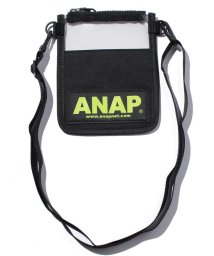 ANAP/ANAPロゴクリアポーチ/500369377