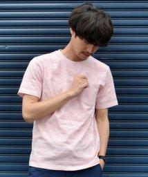 "SHIPS MEN/SC: ""MADE IN JAPAN"" モチーフ ジャガード ポケット Tシャツ2/500377340"