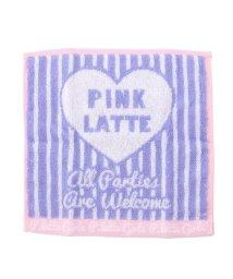 PINK-latte/ジャカードミニタオル/500206731