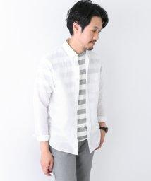URBAN RESEARCH/【DOORS】綿麻ボタンダウンロングスリーブシャツ/500368495