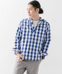 URBAN RESEARCH/【WAREHOUSE】ブロックチェックPOフードシャツ/500368497