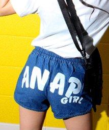 ANAP GiRL/バックロゴショートパンツ/500369403