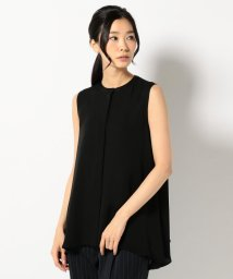 ICB(LARGE SIZE)/【Guest Wear】Silk Georgette ノースリーブ ブラウス/500379215