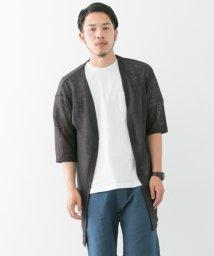 URBAN RESEARCH/【WAREHOUSE】麻7分袖ロングカーデ/500369374