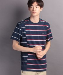 LACOSTE Mens/『Made in France』 ボーダーTシャツ (半袖)/500256655