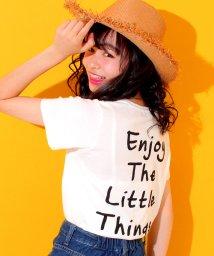 ANAP GiRL/ロゴポケット付バックプリントTシャツ/500377612