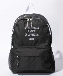 Lovetoxic/【ニコラ掲載】サイドロゴリュック/500378344