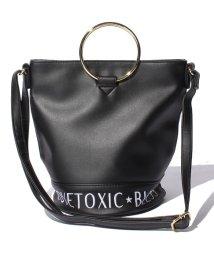 Lovetoxic/【ニコラ掲載】リングハンドルバケツショルダーバッグ/500378345