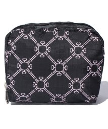 LeSportsac/SQUARE COSMETIC モノグラムピンク/LS0018636